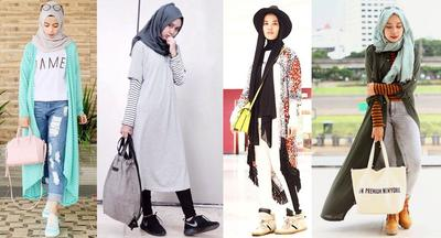 Mix & Match Hijab Fashion ala Blogger
