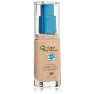 3. Covergirl Outlast Stay Fabulous 3 in 1 Foundation