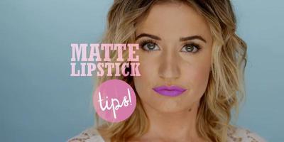 9 Cara Tampil Sempurna Dengan Matte Lipstick