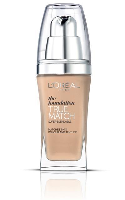 3. L'Oreal True Match Liquid Foundation