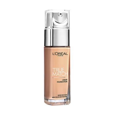 3. L'Oreal Paris True Match Liquid Foundation Nude Beige