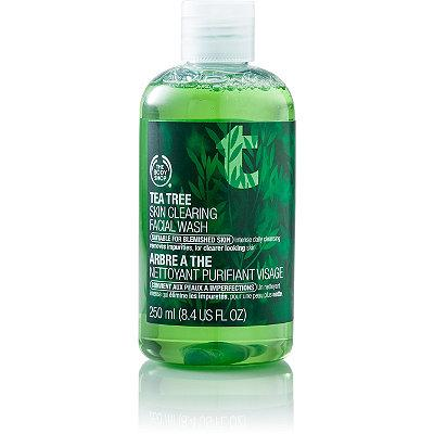 4. Tea Tree Skin Clearing Facial Wash