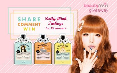 Beautynesia X Dolly Wink Giveaway