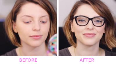 Tutorial Makeup untuk Pengguna Kacamata ala Estee Lalonde