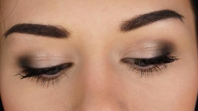 Make Over Kombinasi Warna Berbeda Eyeshadow