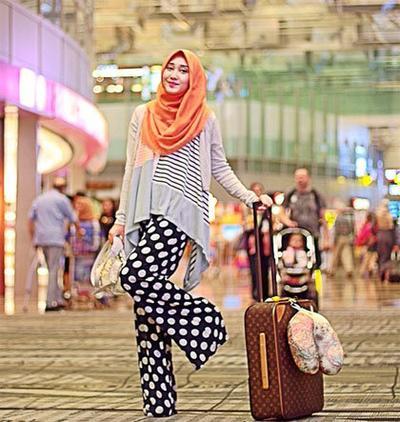1. Pilih Jilbab Dengan Bahan yang Nyaman