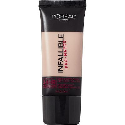 3. L'Oréal Infallible Pro-Matte 24HR Foundation