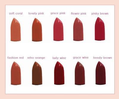 1. The Face Shop Black Label Lipstick  Rp60.000