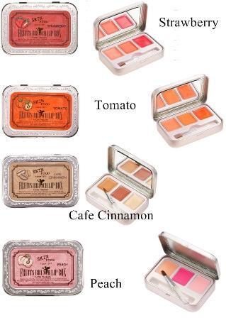 4. Skin Food Fruits Brunch Lip Box Rp100.000