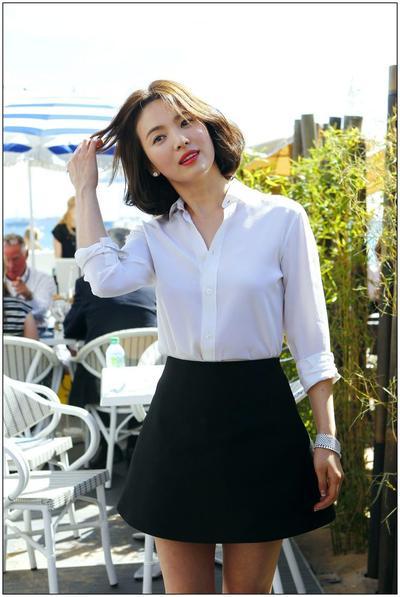 Jadikan Penampilanmu Lebih Natural Dengan Style Rambut Song Hye Kyo