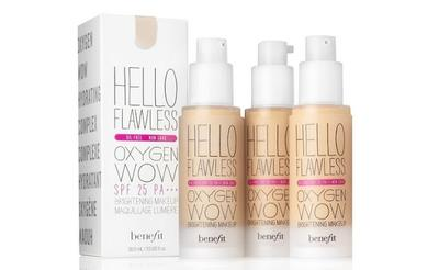 1. Benefit Hello Flawless Oxygen Wow