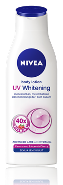 1. Nivea Body Lotion UV Whitening