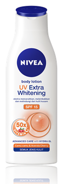 2. Nivea Body Lotion UV Extra Whitening