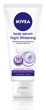 6. Nivea Body Serum Night Whitening