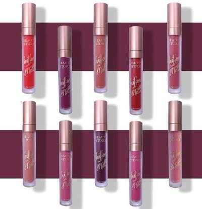 1. Beauty Story Chiffon Matte Lip Rouge