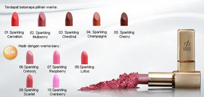 10. Inez Intense Color Moisturizing Lipstick