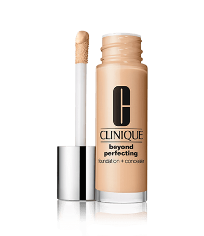 1. Clinique Beyond Perfecting Foundation + Concealer