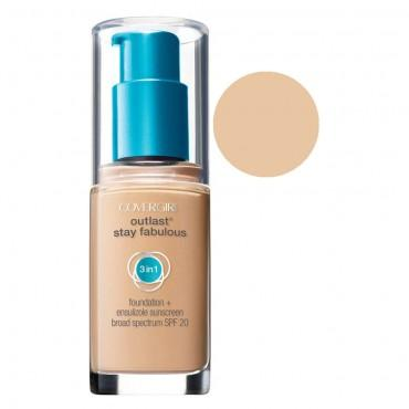 4. Covergirl Outlast Stay Fabulous 3 in 1 Foundation