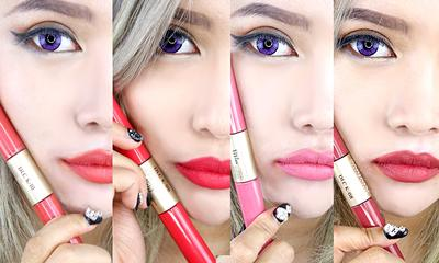 5 Lip Cream Matte Indonesia di Bawah Rp100.000