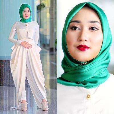 Tutorial Hijab Segiempat Simpel untuk ke Pesta