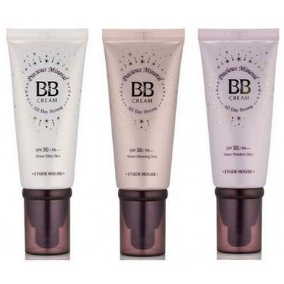 1. Etude House Precious Mineral BB Cream Bright Fit