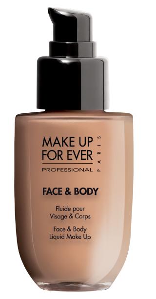 Make Up For Ever Face dan Body Liquid Makeup Foundation