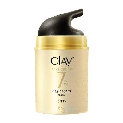 -	Olay Total Effects 7 in One Day Cream Touch of Foundation