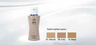 4. Inez Active White Satin Smooth Liquid Foundation