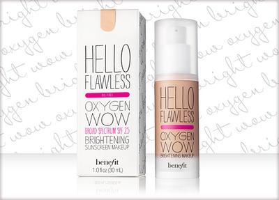 3. Benefit Hello Flawless Oxygen Wow!