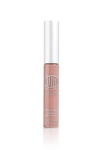 The Balm Plum Your Pucker Tinted Gloss - Cocoa My Coconut