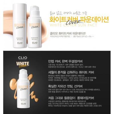 Clio White Cover Foundation