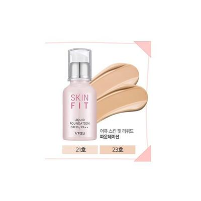 4. Apieu Skin Fit Liquid Foundation