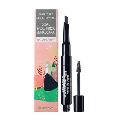 Seatree Art Quick Styling Dual Brow Pencil And Mascara