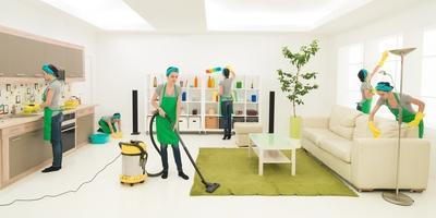 1. Membersihkan Rumah