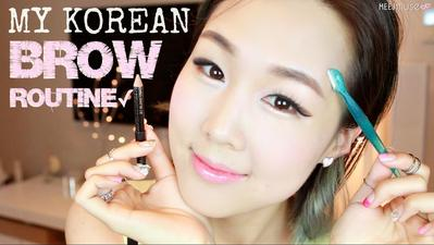 Tutorial Tampilan Alis Natural ala Korea