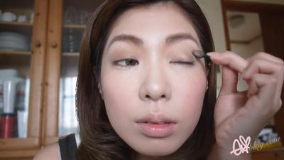Eyeshadow, Highlight, Eyeliner, & Maskara