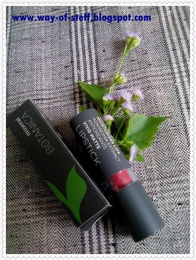 Mineral Botanica Vivid Matte Lipstick