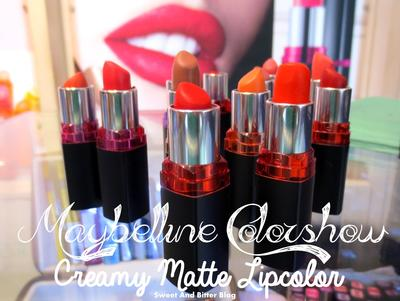 3. Maybelline Color Show Lipstick