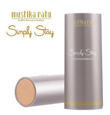 3. Mustika Ratu Simply Stay Stick Foundation