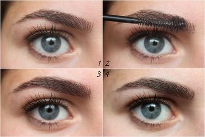 Gunakan Brow Mascara