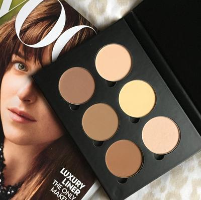 4. Gunakan Contour Palette Sebagai Eyeshadow