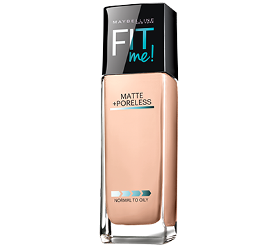 3. Maybelline New York Matte + Poreless Fit Me Foundation