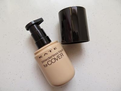 1. Kate Powderless Liquid for Cover Foundation