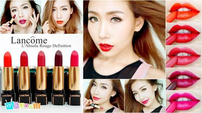 4 Pilihan Lipstik Waterproof Dengan Warna Intens