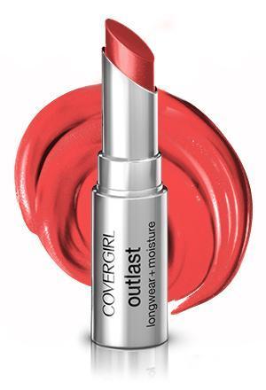 3. CoverGirl Outlast Longwear Moisturizing Lipstick