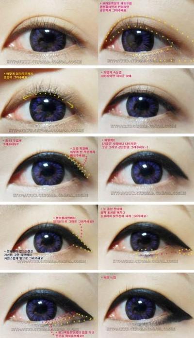 Eyeliner ala Ulzzang Korea