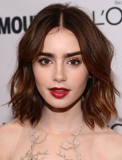 2. Lily Collins