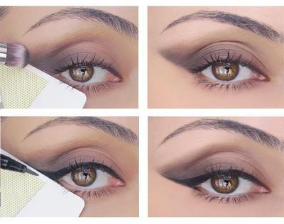 2. Pasang Plester Sebelum Menggunakan Eyeshadow