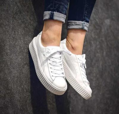 Puma Creepers White