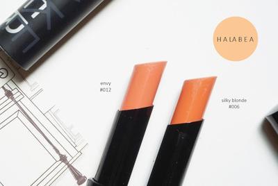 Make Over Ultra Hi-Matte Lipstick (Envy & Silky Blonde)